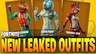 Fortnite - ALL NEW LEAKED OUTFITS & MORE!! (v3.5.0 New Outfits & Costumes)
