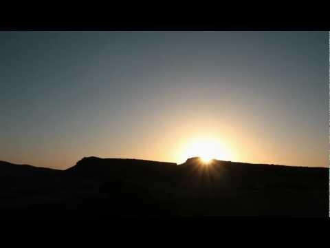 Morocco Night & Sunrise (timelapse)