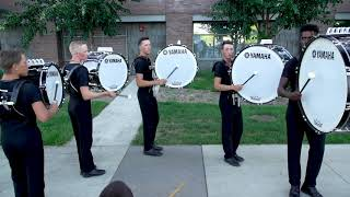 DCI In the Lot: Cavaliers Bass Line