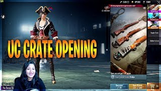 UC CRATE OPENING IN PUBG MOBILE YAY