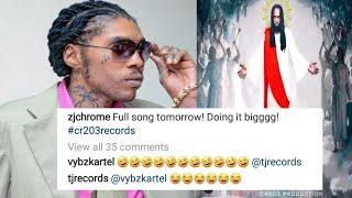 Vybz Kartel and Tj Records Respond To Mavado Song Big Like Jesus