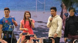 "Meant to Be: Meant to Be Cast sings ""Kahit Sino Pa Man"" Live in Baguio City"