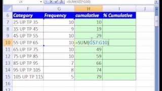 Excel Magic Trick #112: Add Cumulatively width=