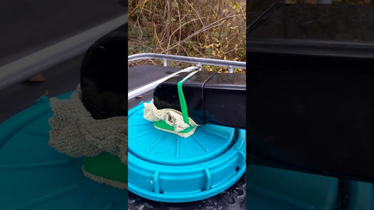 Tank Install for Rainwater Harvesting – IBC – Off Grid Cabin Build Ireland