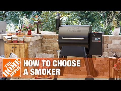 A video details the best types of smokers for your home.