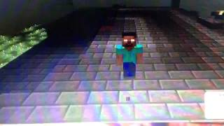 SlenderMan vs Herobrine -rap battle