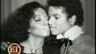 Michael Jackson with Diana Ross