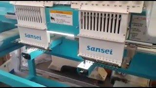Bordadeira Sansei 2 cabeças 400mm x 450mm  Dahao