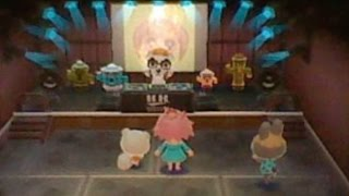 Animal Crossing New Leaf Princess and Marshal dance at Club LOL