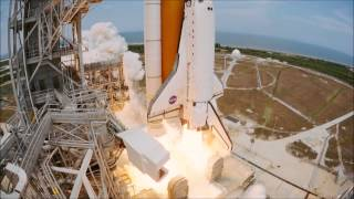 [HD] IMAX // Shuttle launch (Hubble 2010 - STS 125) - Excellent Quality