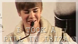 Justin Bieber - I Took A Pill In Ibiza (Official Music Video)