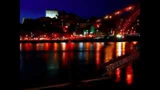 Porto e Gaia  ao cair da noite
