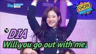 [HOT] DIA - Will you go out with me, 다이아 - 나랑 사귈래 Show Music core 20170506