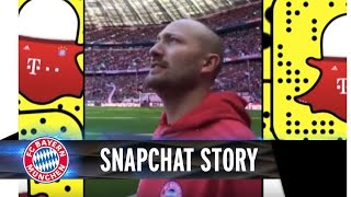 Paul Kalkbrenner | FC Bayern vs. Mönchengladbach - Snapchat-Story