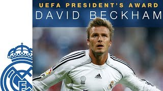 DAVID BECKHAM | UEFA President's Award 2018