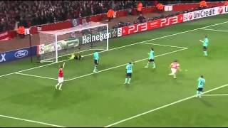 Arshavin vs Barcelona Martin tyler commentary