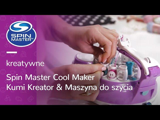 Kreatywne zestawy dla fashionistów DIY 🧒 | Spin Master Cool Maker Kumi i maszyna do szycia!