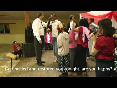 TB healed! A Stammering freed! REVIVAL ministries South Africa Johann vd Hoven