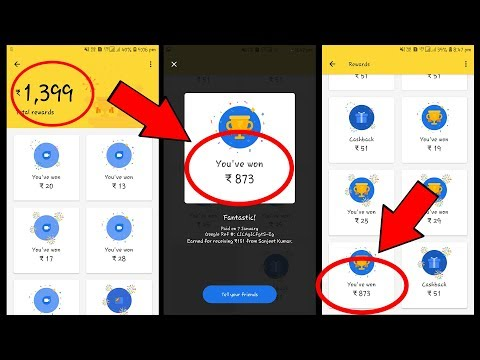 Download thumbnail for Google Pay (Tez) Rs 1000 Coupon Scratch