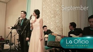 September - Earth, Wind & Fire (Cover) by La Oficio Entertainment, Jakarta