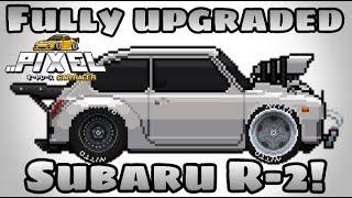 Pixel Car Racer: Dope Subaru R-2 Drag build! | Fully upgraded