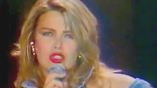 Kim Wilde - Can't Get Enough (Of Your Love) [live 1990 VHS]