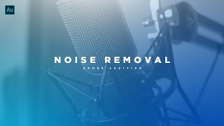How to Remove Background Noise from Your Audio! Adobe Audition CC Tutorial! (2017)