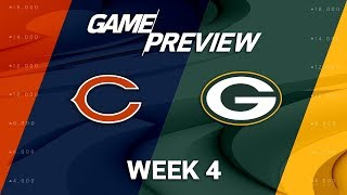 Chicago Bears vs. Green Bay Packers | Week 4 Game Preview | NFL Playbook