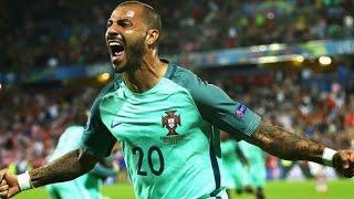 Golo Quaresma | Portugal 1-0 Croácia com relato | Euro 2016