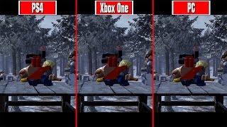LEGO Marvel's Avengers PC vs PS4 vs Xbox One Graphics Comparison (HD vs 4K)