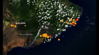 Hawaii Hit by Strong 5M Earthquake and Swarm in Volcano Region