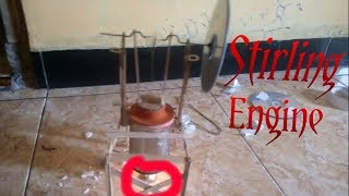 Homemade stirling engine(very simple)