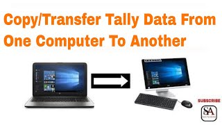 how to copy tally data from one computer to another(step by step)