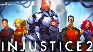 "Injustice 2: ""Cyborg"" Ending! - Injustice 2 Cyborg Multiverse Story Ending"