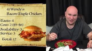 Top 5 Fast Food Chicken Sandwiches