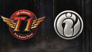 SK Telecom T1 ( SKT ) vs Invictus Gaming ( IG ) Maçı | MSI 2019 Grup Aşaması 5. Gün