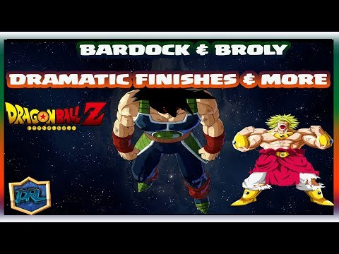 WTFF::: BARDOCK & BROLY DRAMATIC FINISHES & MORE   Dragon Ball FighterZ DLC