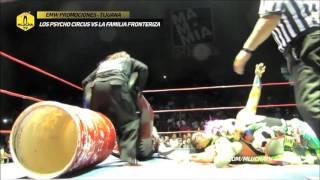 Los Psycho Circus vs La Familia Fronteriza, EMW Tijuana