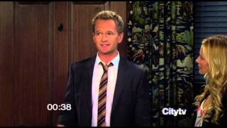How Barney met Robin in 52 secs. Snippet from S08E01