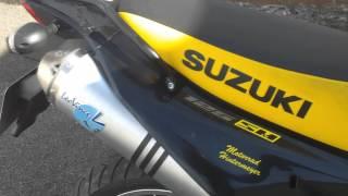 LeoVince X3 Suzuki DR125SM SoundcheckHD1080p