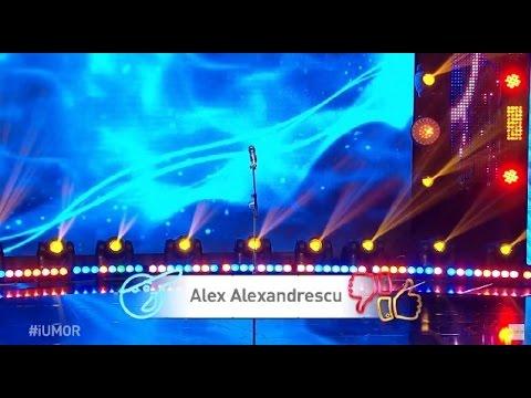 Alex Alexandrescu își zice maestru comic și devine invizibil pe scenă, iUmor