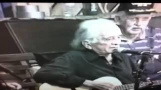 Johnny Cash's last live performance of Walk The Line