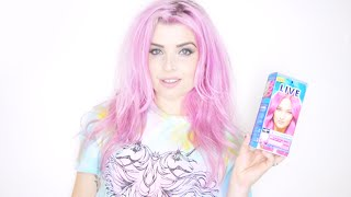 Pink Hair With Live Color XXL
