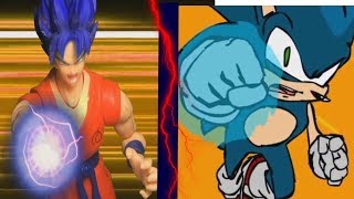 Goku Vs Vegeta: Falcon Punch [Dragon Ball Z Stop Motion]