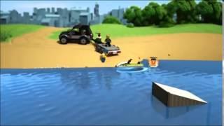 LEGO City - Terenówka ze ślizgaczem / 60058