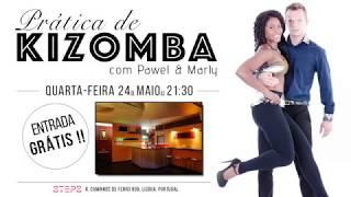 Kizomba Practice com Pawel & Marly - 24 Maio - STEPS