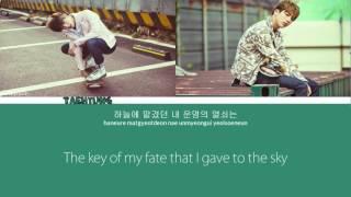 Jin & V(BTS) - Even if i die, it's you (Eng/Hangul/Rom/Greek)