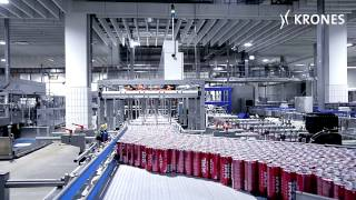 Krones canning line at IQ 4 YOU