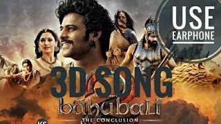 Bahubali 3D Song [Use EarPhone] width=
