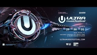 Ultra Music Festival 2019 - Phase 1 Announcement